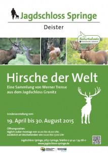 Plakat_HirscheDerWelt_JagdschlossSpringe