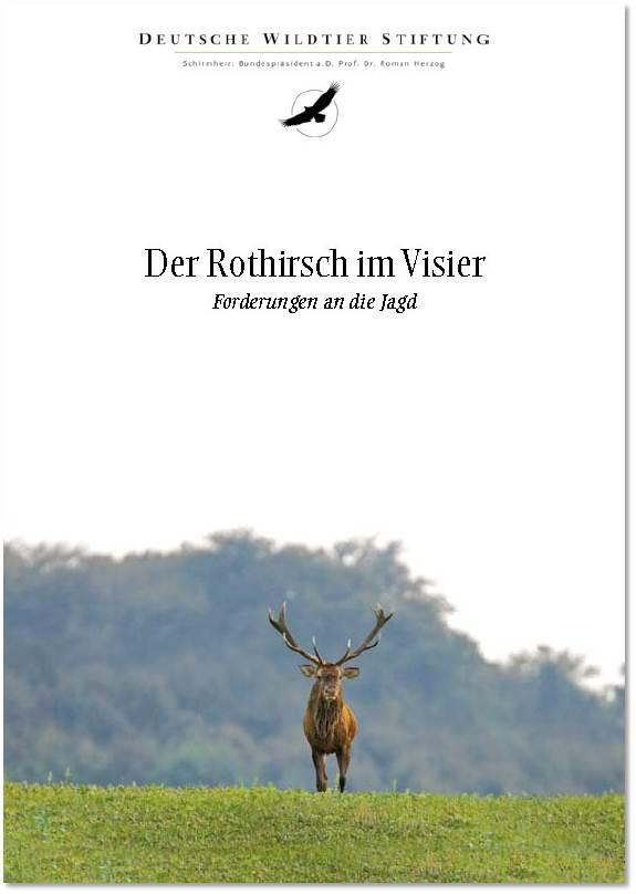 Cover Rothirsch im Visier
